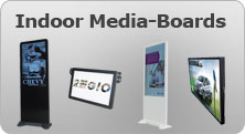 Banner LED Media-Boards, LED-Walls, Digital-Signage