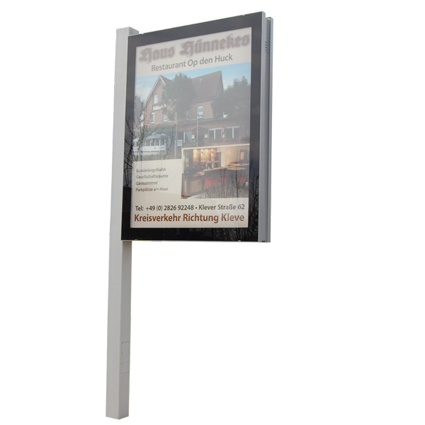 Citylight plus Plakatwechsler 3m²
